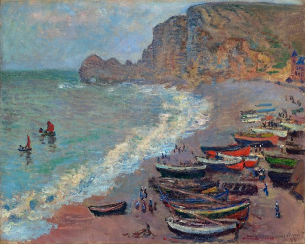 Oil Impressionist Paintings Normandy France