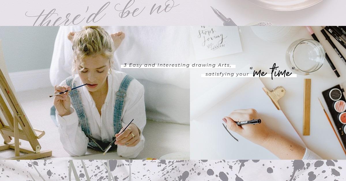 三款治癒系繪畫藝術推介!一枝筆一張紙加上專注的心, 創作同時療癒心靈!