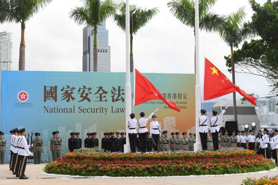 國務院任命駱惠寧為港區國安委國家安全事務顧問