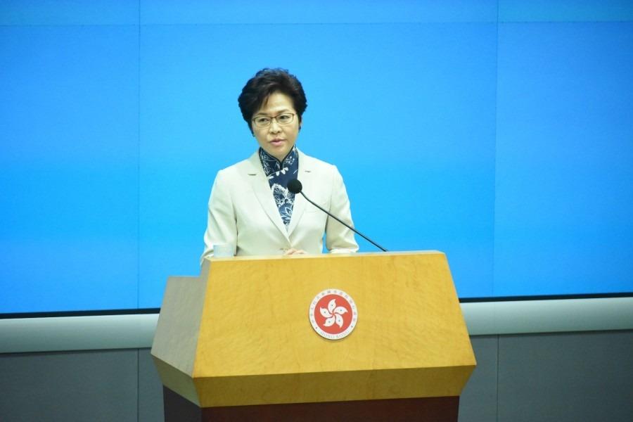 林鄭:偷渡罪由內地處理非常恰當 僅一人涉違國安法