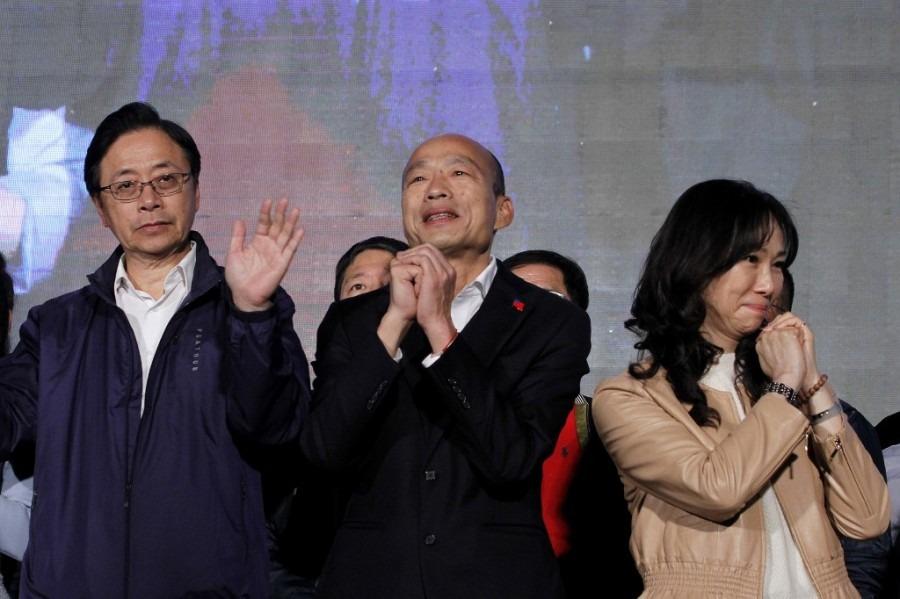 韓國瑜承認「努力不夠」宣告落選 回高雄市政上班
