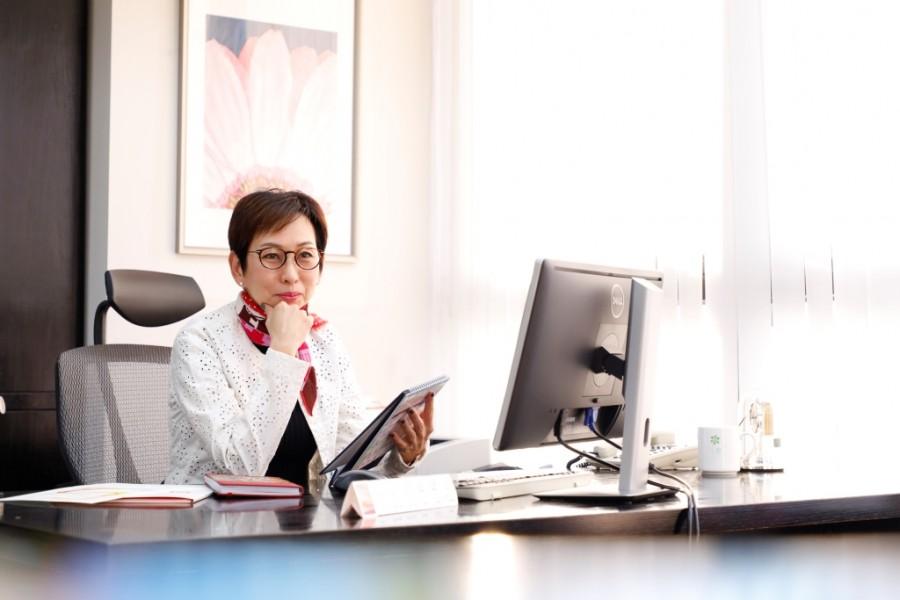 經濟通董事總經理史秀美女士。